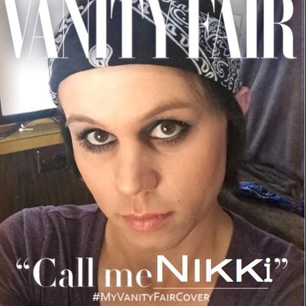 My Vanity Fair cover - Martin O'Neill (Foto: Reprodução/ Instagram)