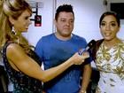 Invasão: Bananinha flagra Anitta, Luan e Thiaguinho; assista! (GShow)