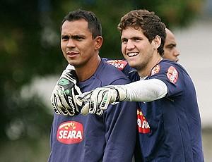 Giovanni no treino do Santos (Foto: Ricardo Saibun / Site Oficial do Santos)