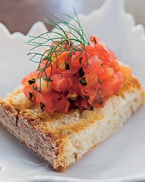 Bruschetta di pomodori (Foto: Célia Weiss/Casa e Comida)