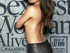 Mila Kunis é a mulher mais sexy do mundo segundo revista 'Esquire'