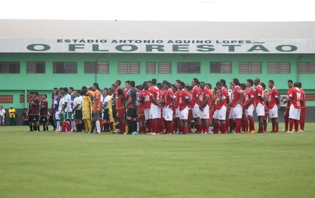 Torneio Início do Campeonato Acreano 2013 no estádio Florestão (Foto: João Paulo Maia)