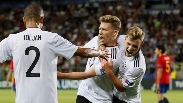3c8d083f61 Alemanha x Espanha - Eurocopa sub-21 2017 - Ao vivo - globoesporte.com
