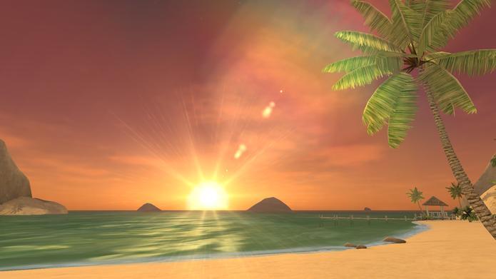 Perfect Beach simula férias na praia no Gear VR (Foto: Divulgação)