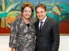 Carlinhos Almeida participa de reunião com a presidente Dilma