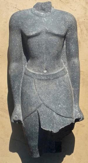 A foto da foi fornecida pelo Ministério de Antiguidades egípcio (Foto: EFE)