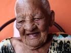 Idosa de 113 anos de SP diz que está 'caçando outro homem para casar'