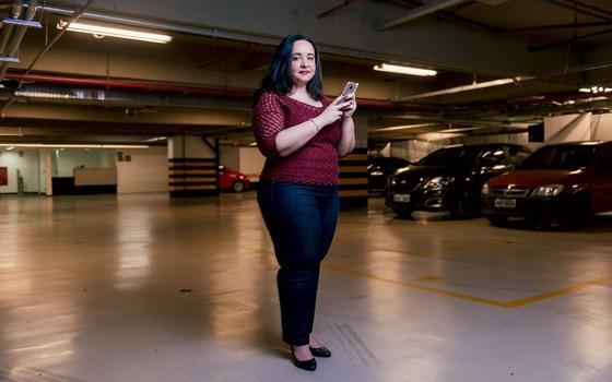 Letícia Passarelli,empresária.Ela recorreu ao pai para ter orientação sobre negócios (Foto: Filipe FRedondo/ÉPOCA)