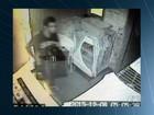 Ladrão destrói câmera de segurança após furtar restaurante em GO; veja