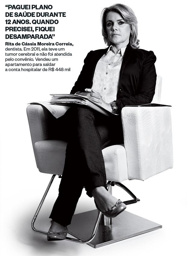Rita de Cássia Moreira Correia (Foto: Rogério Cassimiro/ÉPOCA)