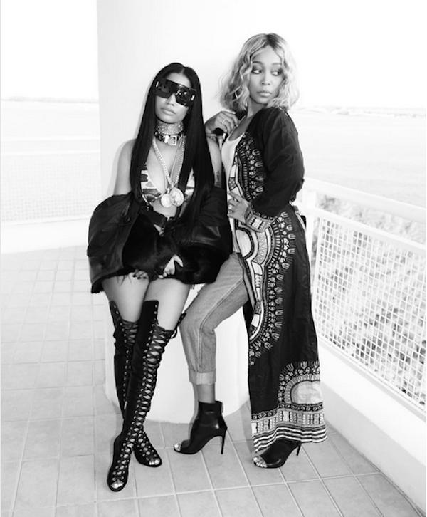 A cantora Nicki Minaj (Foto: Instagram)