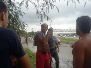 Motorista saiu ileso após acidente (Foto: Alexsandro da Costa Leite / Arquivo Pessoal)