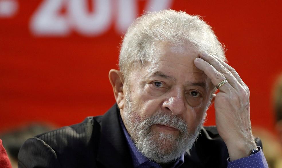 O ex-presidente Luiz Inácio Lula da Silva foi condenado na Lava Jato (Foto: Leonardo Benassatto/Reuters)