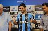"""Após """"chapéu"""", Henrique revela que escolheu o Grêmio: """"Em casa"""" (Eduardo Moura/GloboEsporte.com)"""