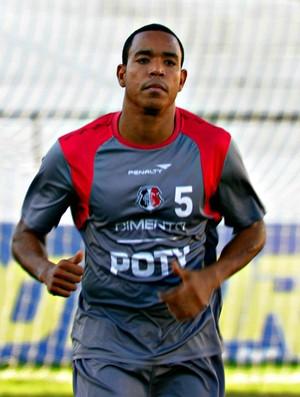 Diego Bispo - Santa Cruz (Foto: Aldo Carneiro/Pernambuco Press)