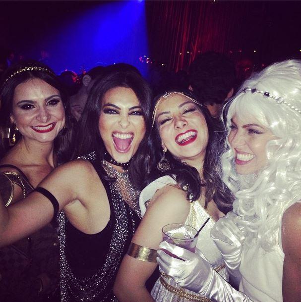 Juliana Paes com amigas (Foto: Reprodução/Instagram)