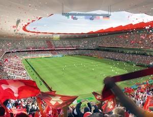 projeto estádio Copa Rússia 2018 estádio Saransk (Foto: Getty Images)