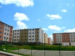 Conjunto São José tem previsão de entrega para setembro, diz prefeitura (Foto: Abinoan Santiago/G1)