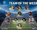 Dante, Fernandinho e Thiago Motta são escalados na seleção da Liga