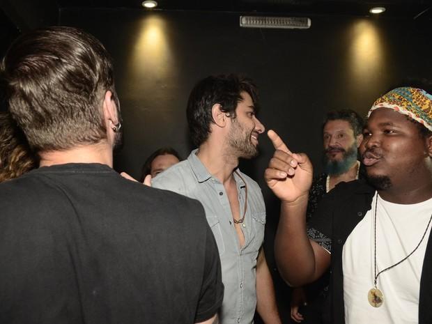 Ex-BBB Renan e Ronan em festa na Zona Oeste do Rio (Foto: Roberto Teixeira/ EGO)