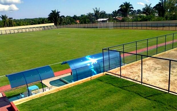Estádio Valdizão, em Manaquiri (Foto: Divulgação/FAF)