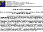 Prefeitura paga R$ 5 mil em concurso para criação de hino em Silva Jardim