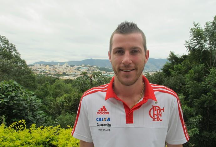 Paulo Victor Flamengo (Foto: Ivan Raupp)