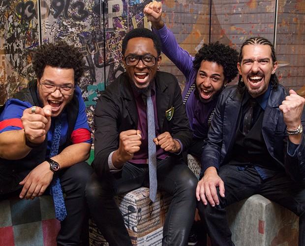 Serial Funkers se inspiram nos várias vertentes de black music (Foto: Fabiano Battaglin / Gshow)