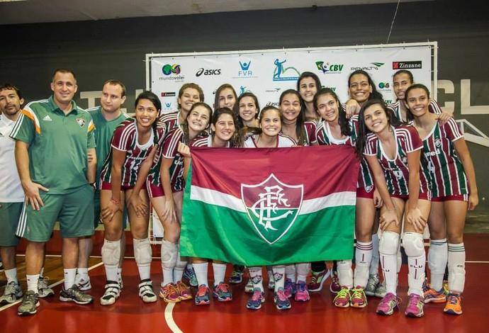 Fluminense, maior vencedor da Copa Cidade Maravilhosa de 2014 (Foto: Divulgação)