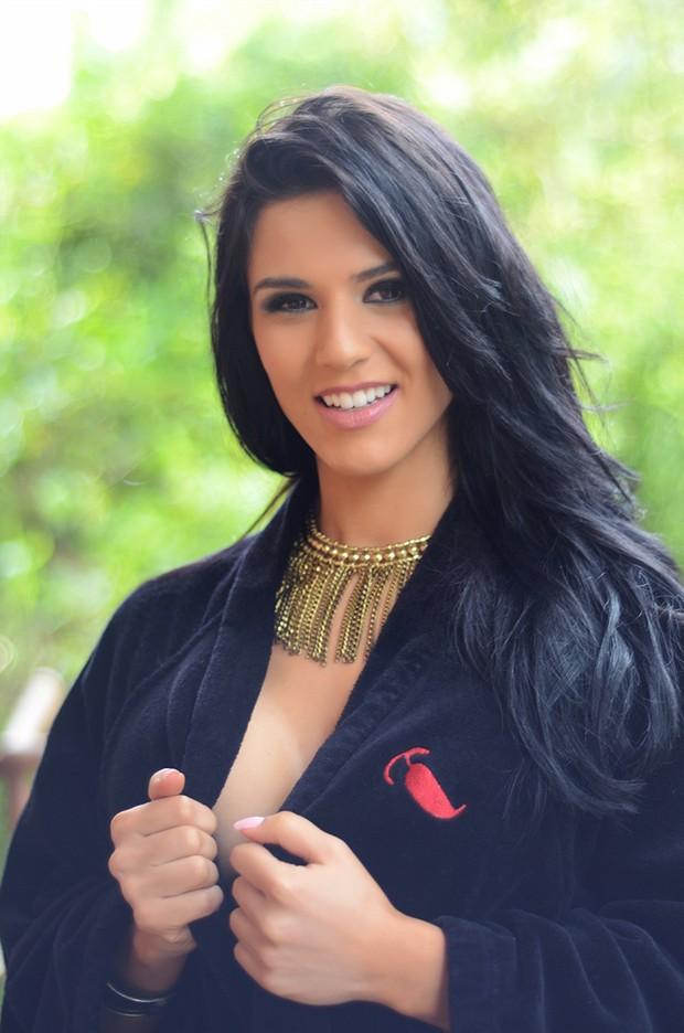 Eva Andressa fotografa para Sexy (Foto: Revista Sexy/Divulgação)