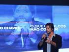 Leo Chaves, dupla de Victor, estreia como palestrante: 'Me senti muito bem'