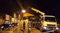 Depois de denúncia do SETV, SMTT de Aracaju começa a fazer reparos em abrigos de ônibus