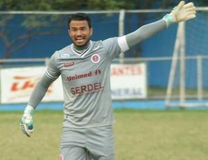 Felipe, goleiro da Desportiva (Foto: Henrique Montovanelli/Desportiva Ferroviária)