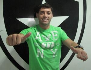 Rojas no Botafogo (Foto: Thales Soares/Globoesporte.com)