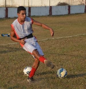 Dudu Mandai, atacante Rio Branco-AC (Foto: Murilo Lima)
