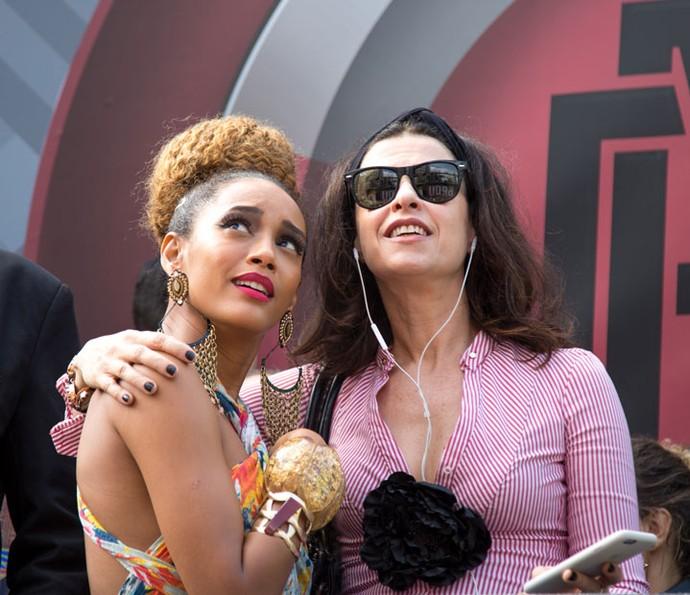 Fernanda Torres vive Bárbara em 'Mister Brau' (Foto: Gshow/Fabiano Battaglin)