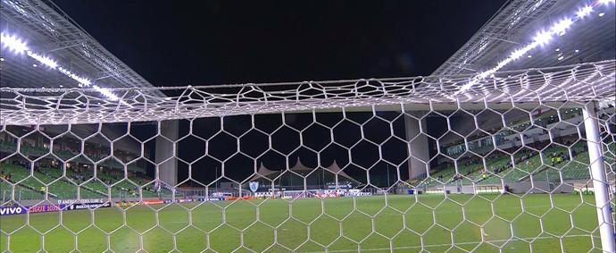 Independência para Atlético-MG e Santos (Foto: Reprodução / Premiere)