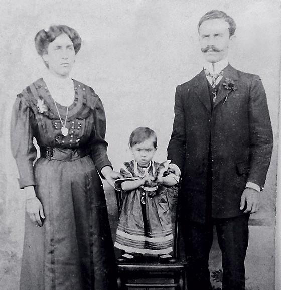 """Chiquitinha e Florduardo, pais de Guimarães Rosa  (Foto: acervo pessoal/livro """"Relembramentos"""",  editora Nova Fronteira)"""