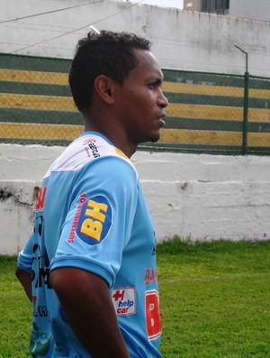 Meia-atacante do Nacional-MG, Alex Maranhão (Foto: Cleber Corrêa)