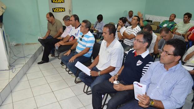 Arbitral do Campeonato Sergipano 2013 (Foto: João Áquila/GLOBOESPORTE.COM)
