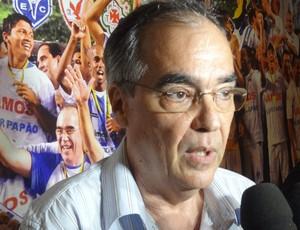 Paulo Moraes, presidente da Assembleira Geral do Paysandu, esclareceu dúvidas quanto às eleições no clube (Foto: Pedro Cruz/GLOBOESPORTE.COM)