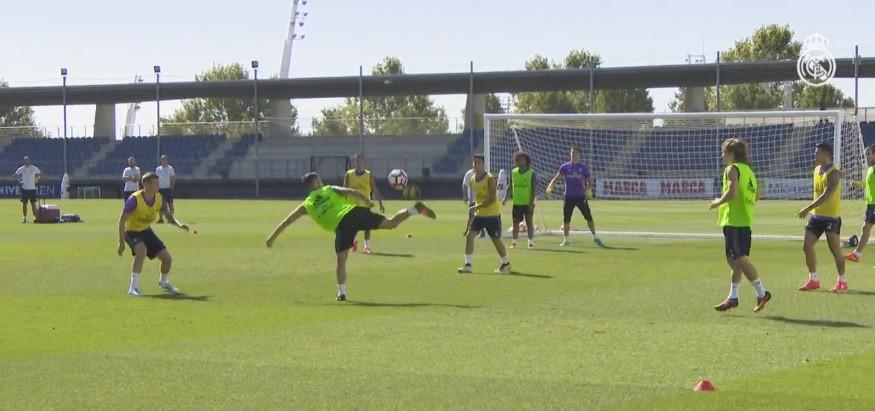 BLOG: Isco faz golaço de calcanhar em treino do Real Madrid