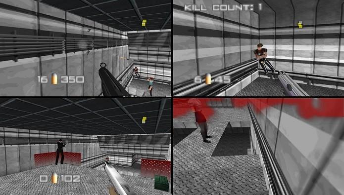 GoldenEye 007: multiplayer foi incluído de última hora e feito quase todo por apenas um desenvolvedor. (Foto: Reprodução/Misinformation.com)
