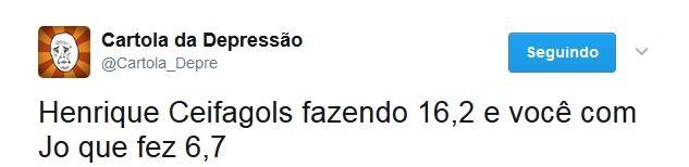 Jô H. Dourado Zoação Cartola (Foto: Reprodução)