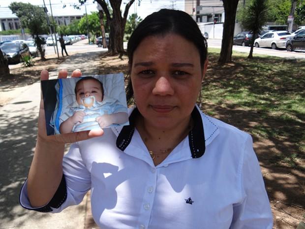 Gerlainy Lacerda (Foto: Katherine Coutinho/ G1)