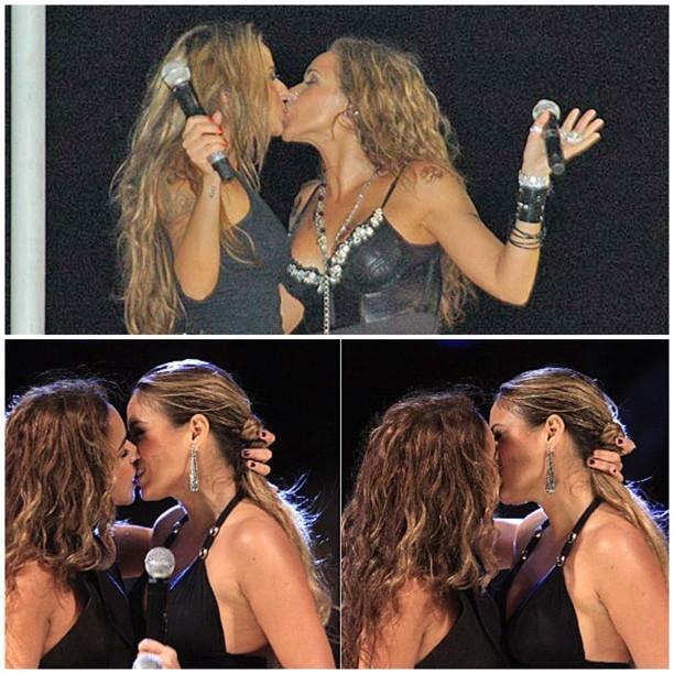 Alinne Rosa e Daniela Mercury (Foto: Instagram/Reprodução)