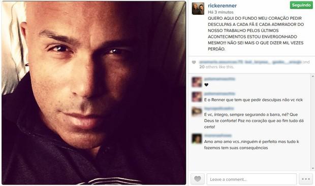 Rick (Foto: Reprodução/Instagram)