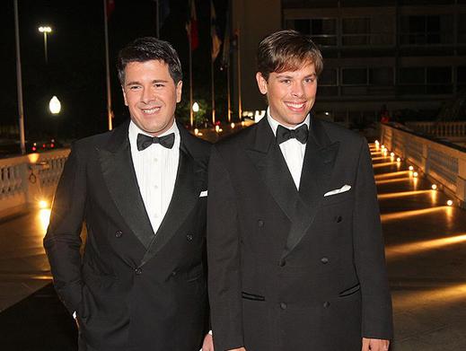 André Ramos e Bruno Chateaubriand (Foto: AgNews)