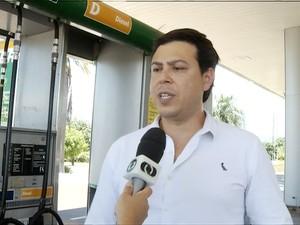 Empresário é acusado de fazer parte de cartel de postos de combustíveis em Palmas (Foto: Reprodução/TV Anhanguera)
