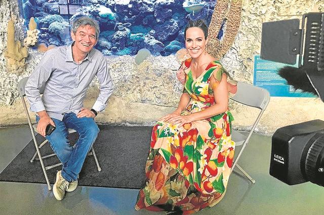 Serginho Groisman e Fernanda Pontes (Foto: Divulgação)